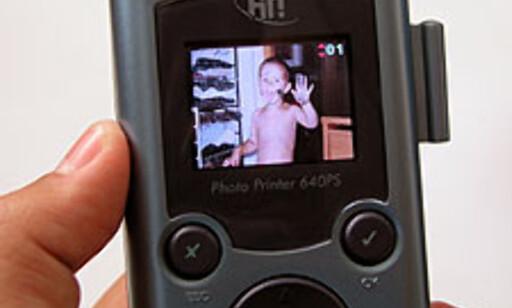 Utvelgelsen av bilder skjer enkelt ved hjelp av den håndholdte kontrollen. Inntil fire bilder kan vises samtidig.