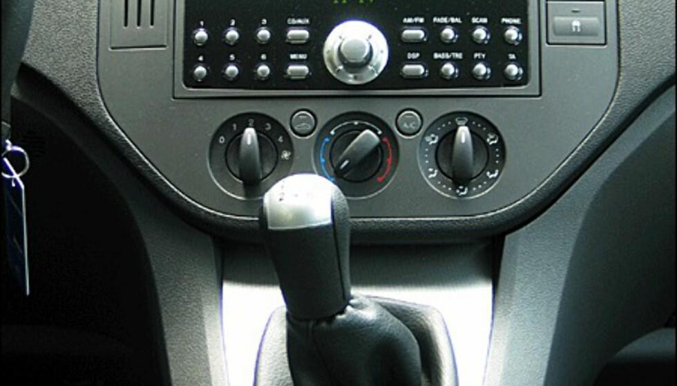 Ford har skiftet ut det egenproduserte stereoanlegget med et mer avansert anlegg fra Sony.