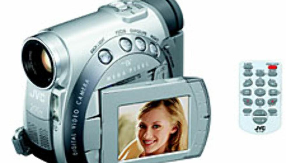 JVC med DV-kamera for kvinner