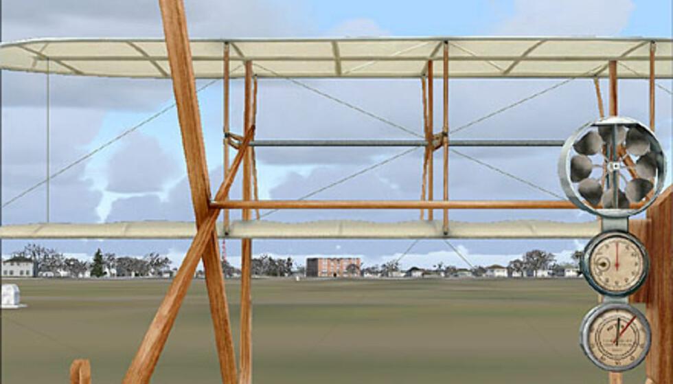 Wright-flyet er nesten umulig å fly