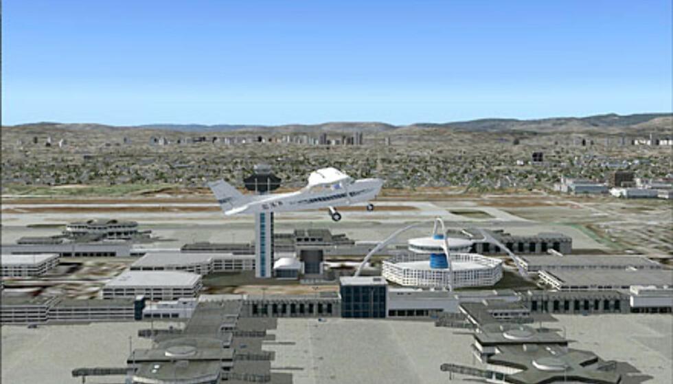 LAX-flyplassen i Los Angeles