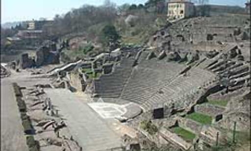 Det romerske teateret hvor det holdes konserter om sommeren. Foto: Stine Okkelmo Foto: Stine Okkelmo