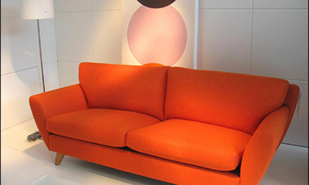 L.K. Hjelles Apollo-sofa  koster 24.276 per stk.  Foto: Inga Holst Foto: Inga Holst