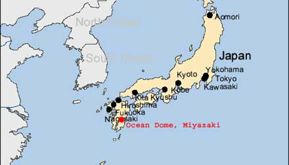 Ocean Dome (kart)