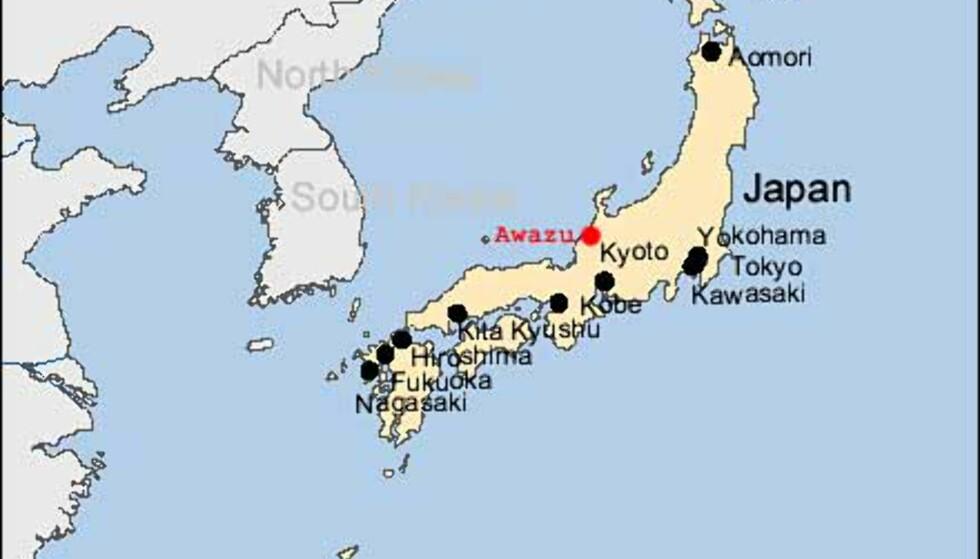 Hoshi Ryokan (kart)