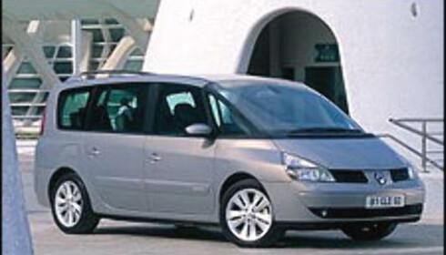 SIKREST: Renault Espace fikk 35 poeng hos Euro NCAP, noe som er foreløpig rekord.
