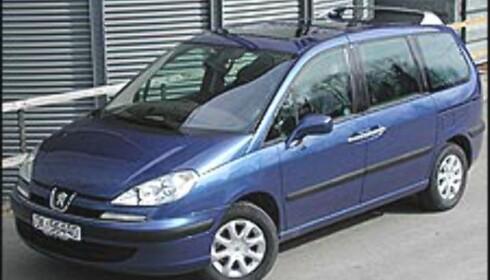 PEUGEOT 807: Beste kjøp blant flerbruksbilene