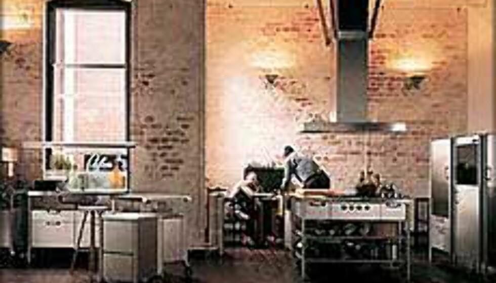 Kjøkkenet blir stadig mer elegant. Foto: expo-nova.no