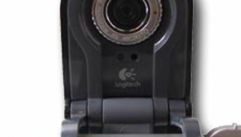 Logitech webkamera for bærbare