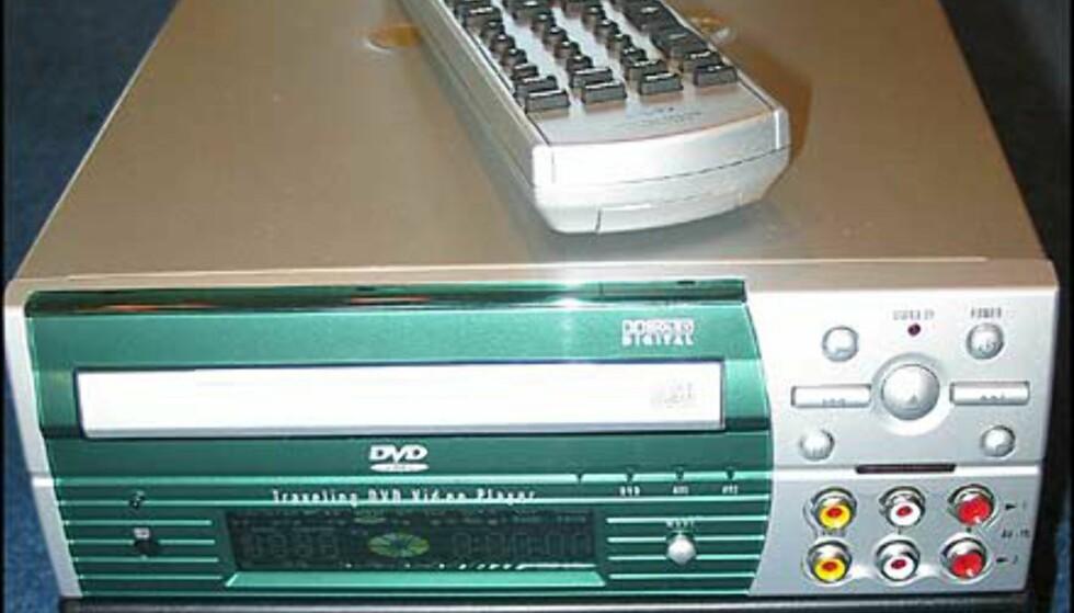 Etterfølgeren til DVD-1352. Har også mange tilkoplingsmuligheter.