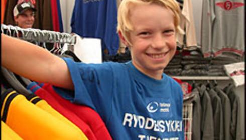 Per Henrik Hars - klar for shopping.  Foto: Inga Holst Foto: Inga hOlst