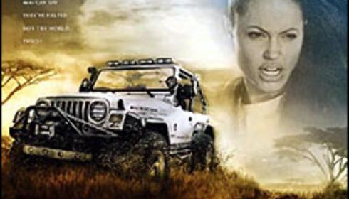 Wrangler Jeep til Lara Croft