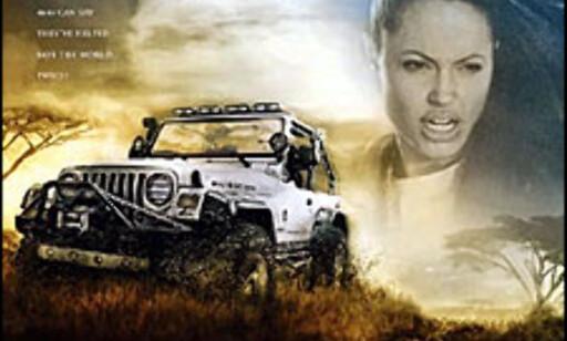 image: Wrangler Jeep til Lara Croft