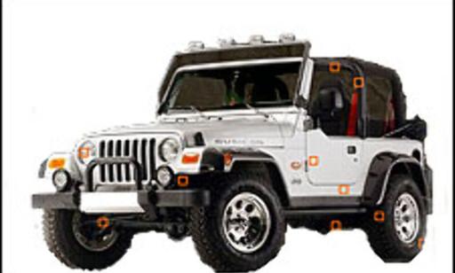 Personbilutgaven - Jeep Wrangler Tomb Raider