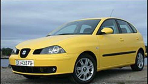 <strong>STØRST:</strong> Seat Ibiza og Skoda Fabia er 396 centimeter lange og dermed de lengste småbilene på markedet.