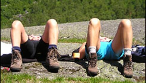 Det oser sommerferie av Odd Hedemendes bilde. Foto: Odd Hedemendes