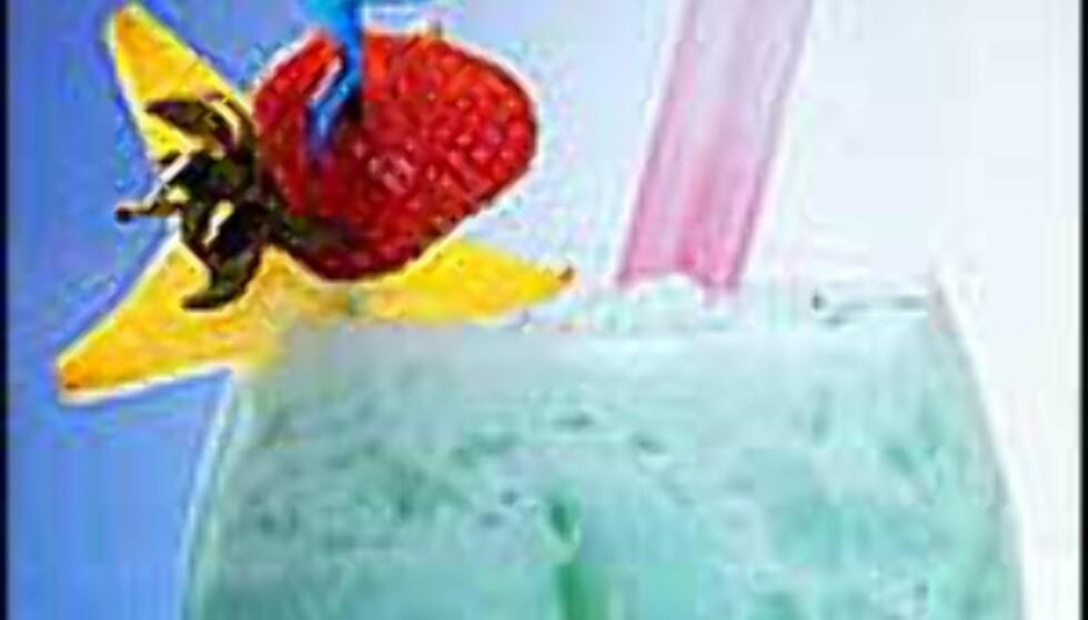 Friske farger og frukt til dekor. Typisk sydensnop ...