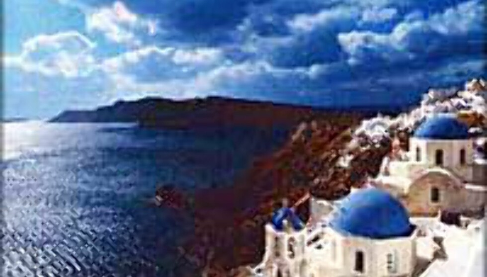 Santorini er en av destinasjonene du kan nå billig denne uken.