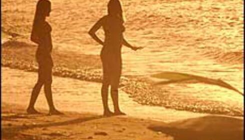 Solen varmer, men kan skade huden. Illustrasjonsfoto: Hans-Jørgen Berg Foto: Hans-Jørgen Berg
