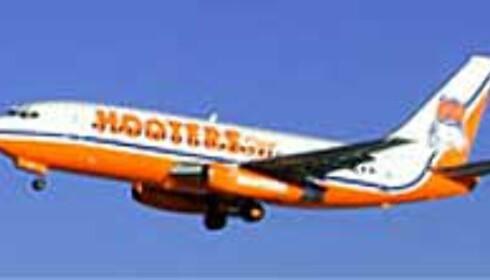 Hooters Air holder seg i lavprismarkedet.