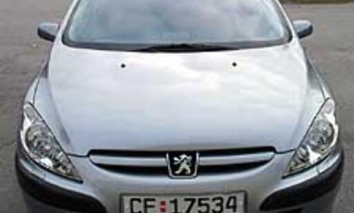 Joda, Peugeot 307 er en tøff bil.