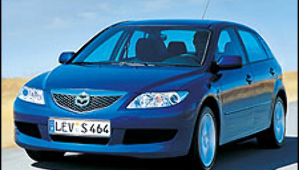 Tenningen om for Mazda 3
