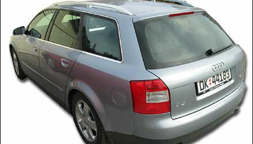 Audi A4 1,8T S-line Quattro Avant