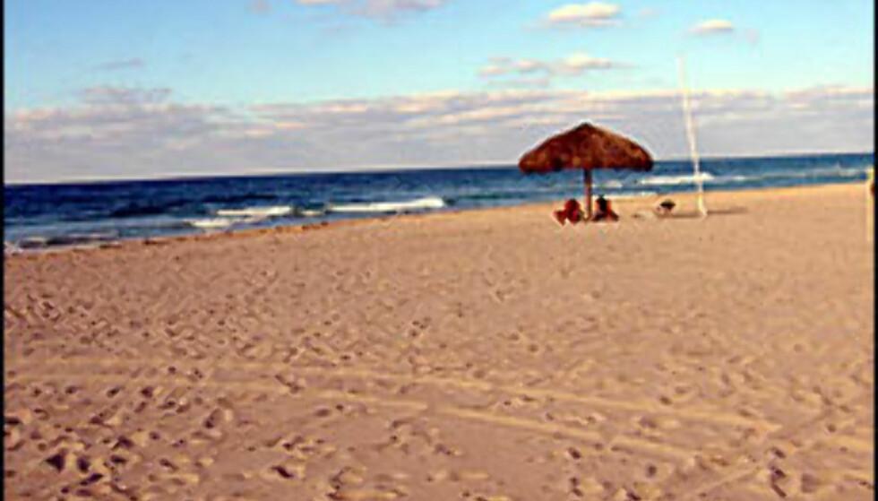Drømmer du om en strand der du kan kle helt av deg? Illustrasjonsfoto: Jon Erik Sæhle Foto: Jon Erik Sæhle