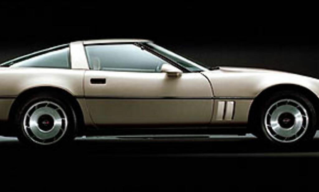 image: Corvettehistorie i bilder