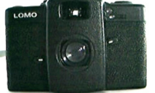 Lomo-kameraet.