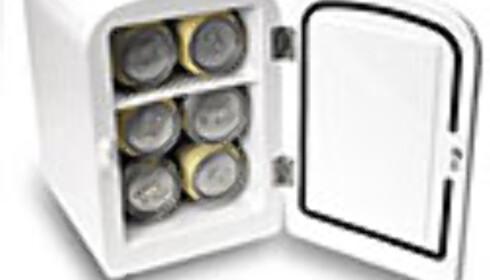 Mini-kjøleskap.