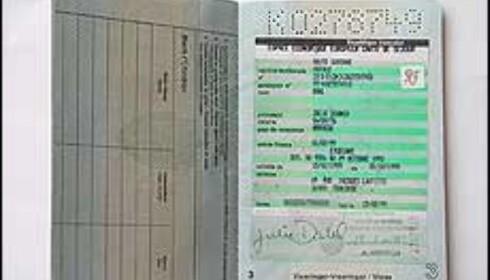 Gamle pass kan ikke leses i maskin.