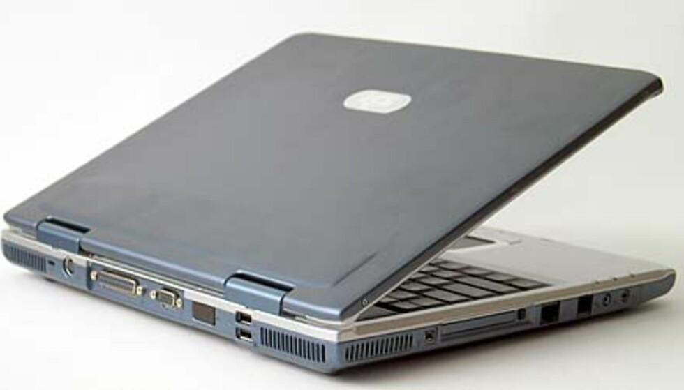 PCen har en ryddig og praktisk utforming.
