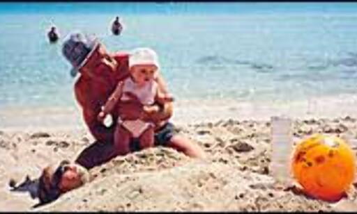 Barnevennlig sommer på Kypros, her fra Nissi beach. Foto: Ronny Sivertsen Foto: Ronny Sivertsen