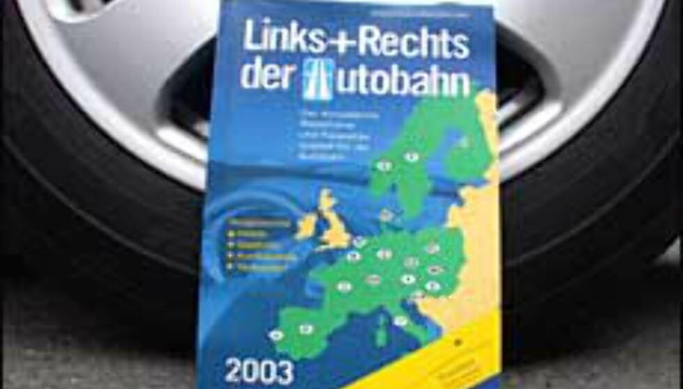 Finn frem langs Europas motorveier