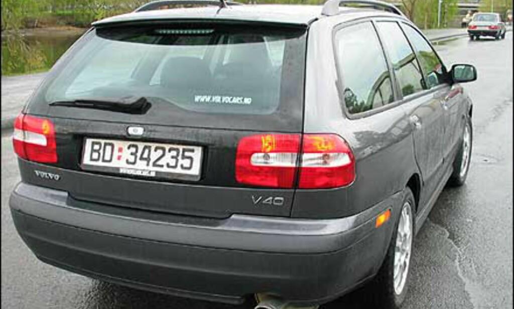 Ny og gammel Volvo