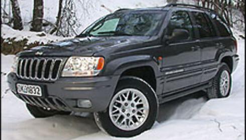 3 ÅR: Jeep Grand Cherokee