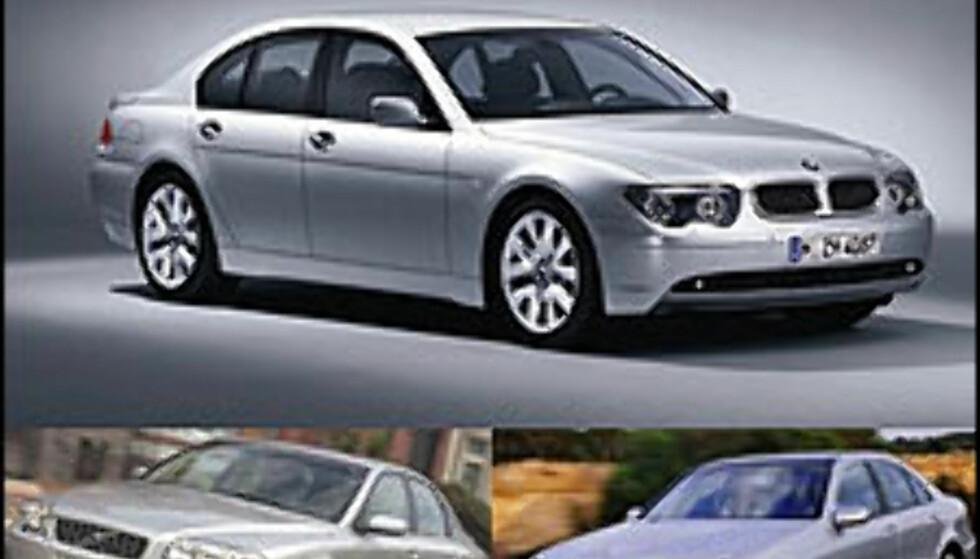 BMW hardt ut mot Volvo og Mercedes