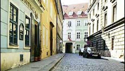 Bilde fra ambassaden i Praha.