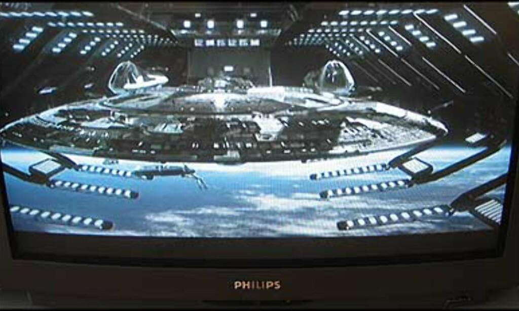 Lekker dokking av stjerneskip i Star Trek Nemesis