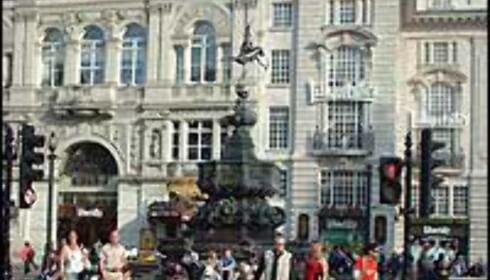 Piccadilly Cirkus Foto: Stine Okkelmo