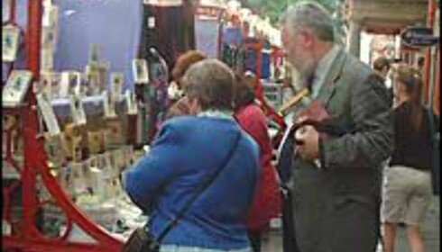Du finner mye rart på Londons markeder. Foto: Stine Okkelmo
