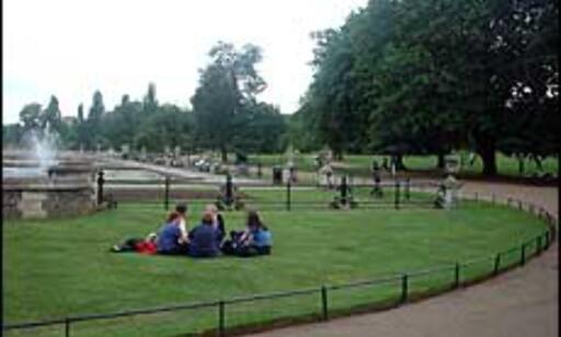 Kensington Gardens er Londons hage. Foto: Stine Okkelmo