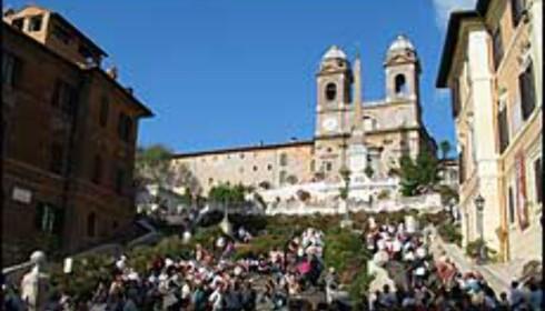 Spansketrappen - et møtested i Roma.
