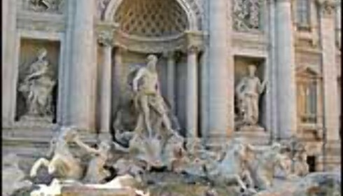 FONTANA DI TREVI: Verdens mest berømte fontene?