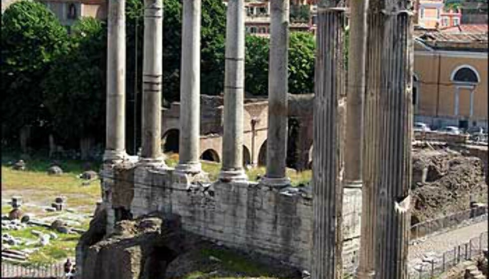 Forum Romanum var hjertet i det romerske riket i nesten 1.000 år. Lite står fortsatt, men du får et glimt av det gamle Roma.