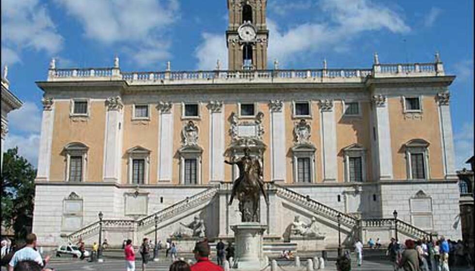På samme plass ligger Romas rådhus.
