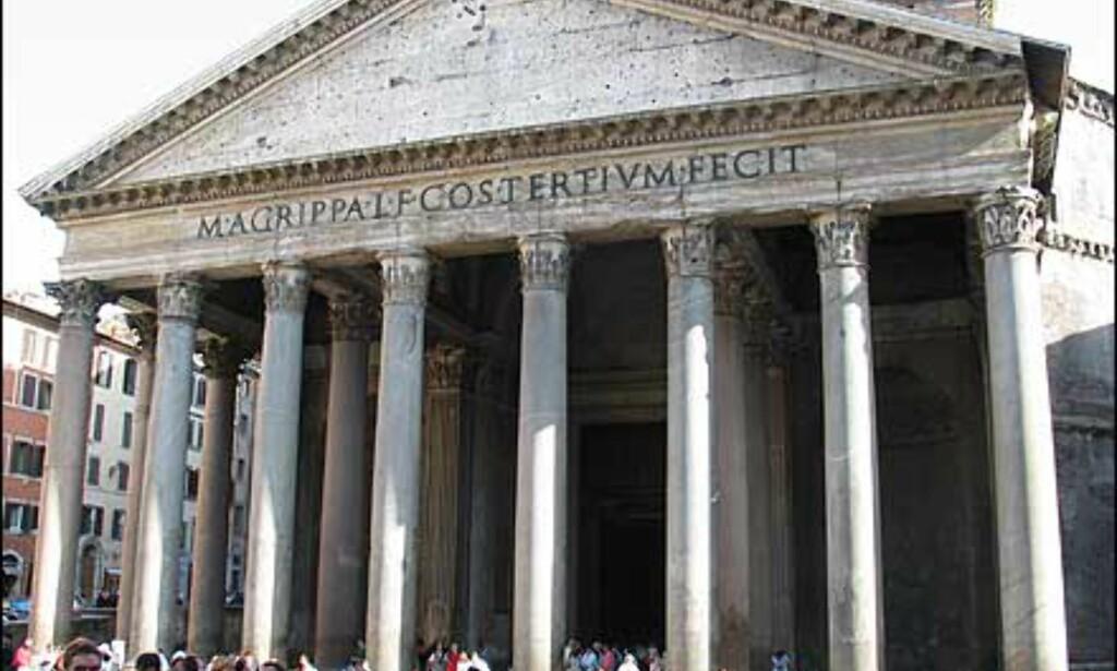Pantheon er det best bevarte bygget i Europa fra antikken. Det har stått så og si uendret fra det ble oppført for 2.000 år siden.
