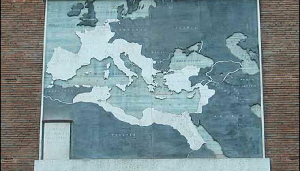 Romerriket har både vokst og krympet.
