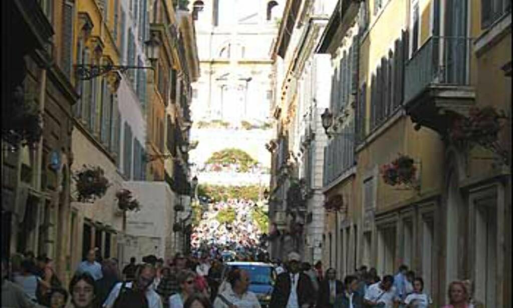 Klassisk shopping er også en del av Romabesøket.